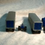 M9 Matchbox Lesney Major Pack Inter State Double Freighter