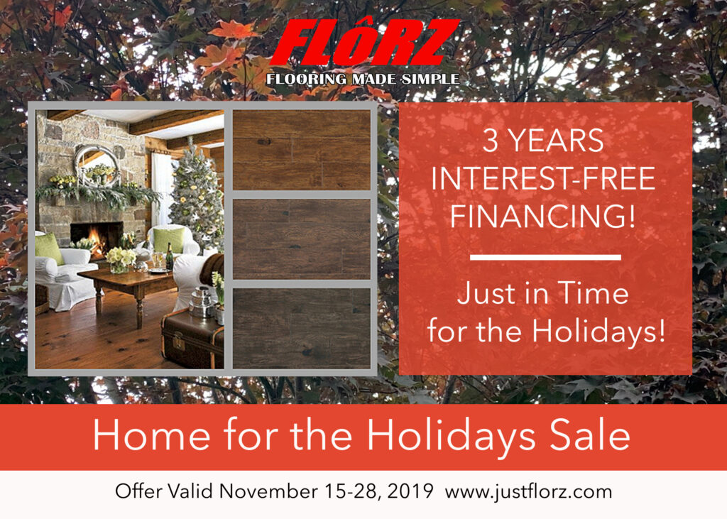 Flooring, Installation, Interest Free, Holiday Special Interest Free Financing,