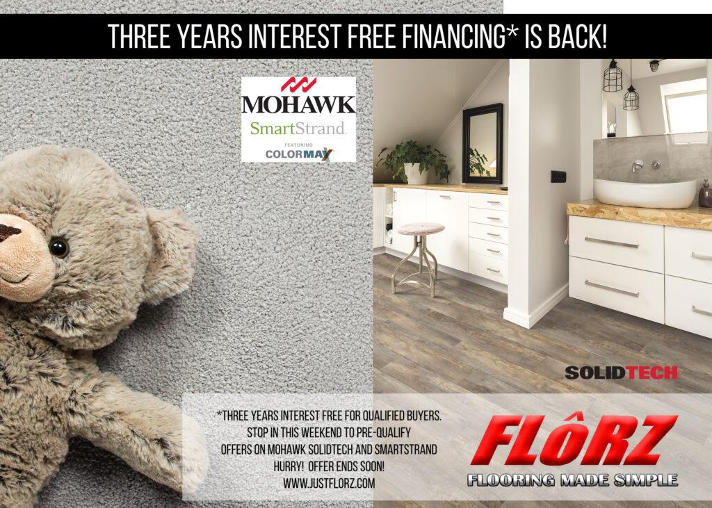 Interest Free Financing, Flooring South Jersey, Carpet, Laminate, Luxury Vinyl