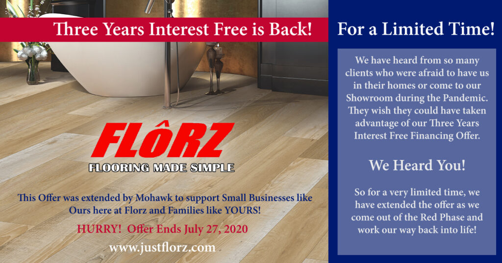 interest free financing on flooring, flooring south jersey