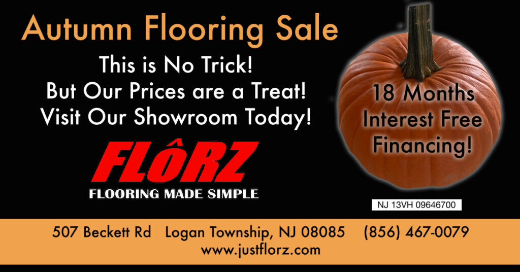 Autumn Flooring Sale, Flooring South Jersey, Carpet, Hardwood, Luxury Vinyl, Tile
