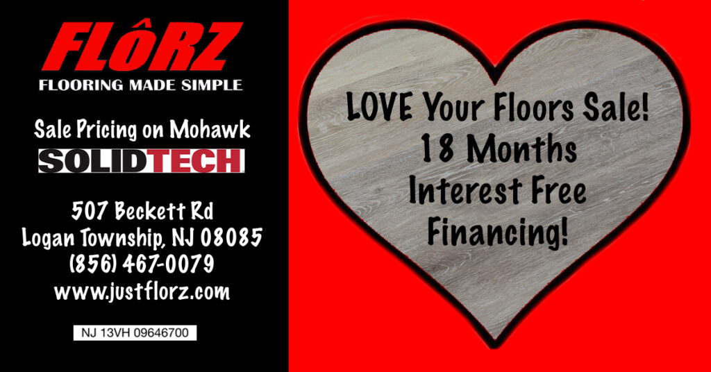 Love your floors, flooring delco, flooring south jersey