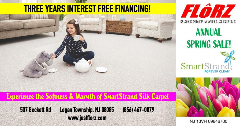 Spring Carpet Sale, Interest Free Financing