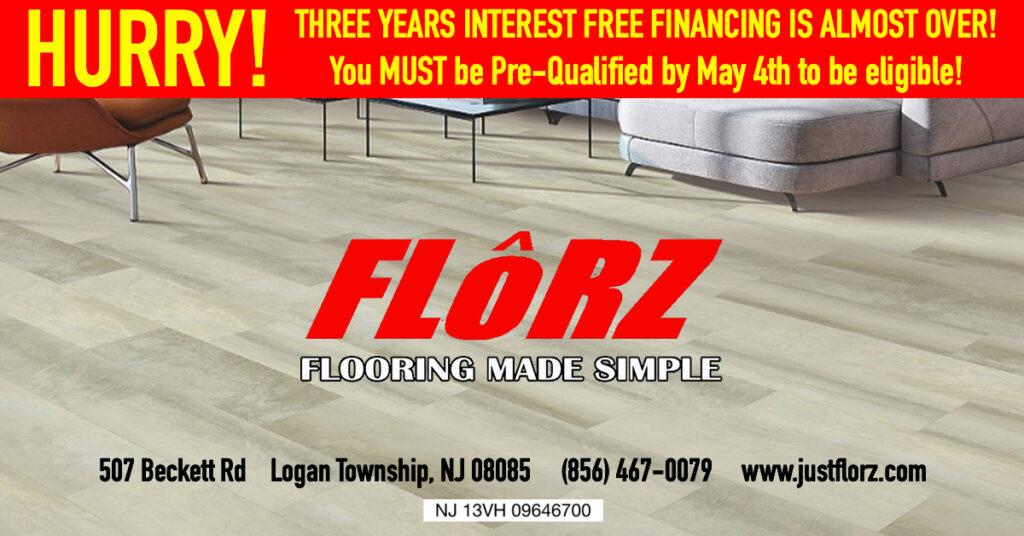 Interest free financing, flooring delco, flooring south jersey