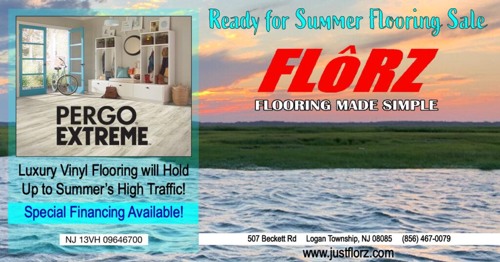 Summer flooring sale, flooring near me, flooring south jersey, luxury vinyl, carpet