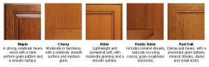Canyon Creek Frameless Cabinets Wood Selection