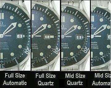 Seamaster Pro Full Size, Mid Size, Automatic