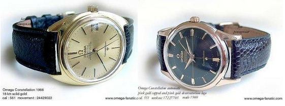 Omega Seamaster Side-by-side Comparison