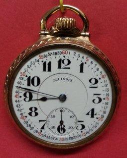 16 Size Illinois Bunn Special Railroad Watch
