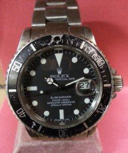 Men's Rolex GMT Before Restoration