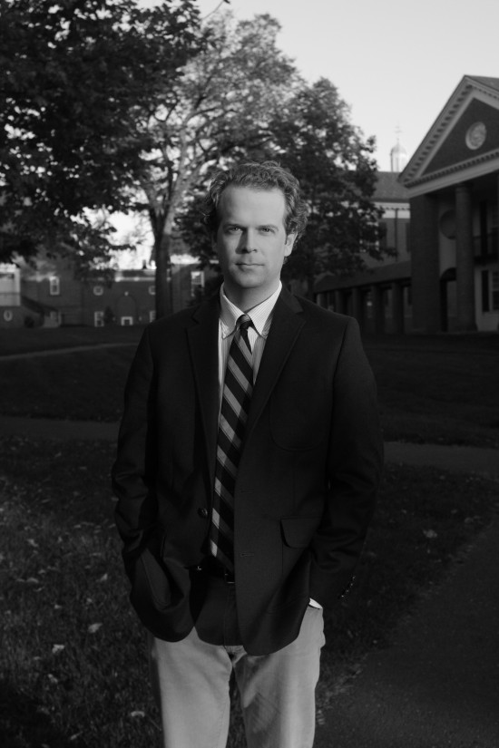 Win Bassett transition from a career in law to the Yale Divinity School. Photo by Jennifer Lu.