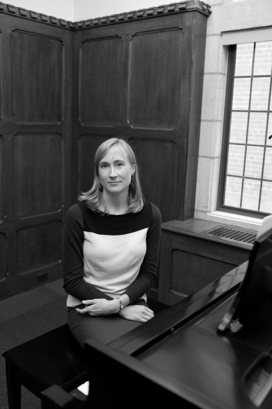 Hannah Lash is an award-winning composer and professor at the Yale School of Music. Photo by Jennifer Lu.