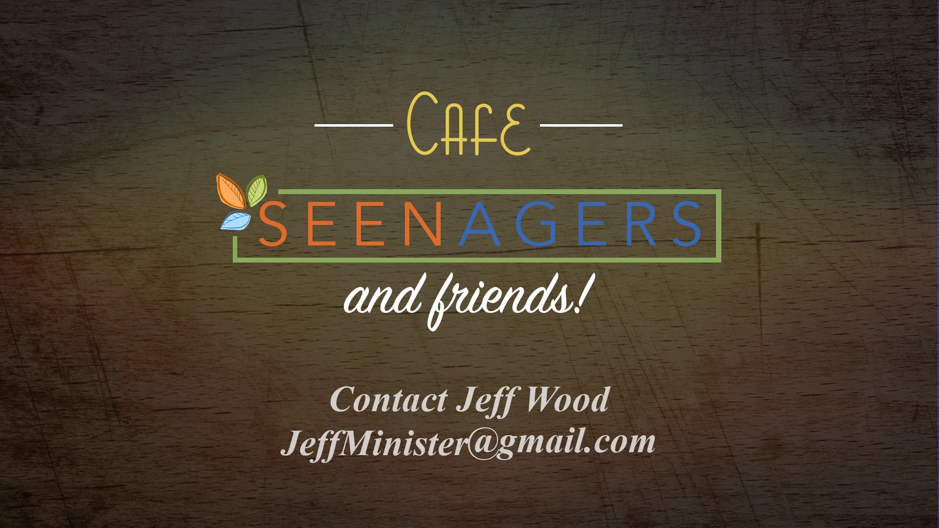 Cafe Seenagers & Friends