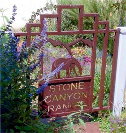 Garden Gate with Logo