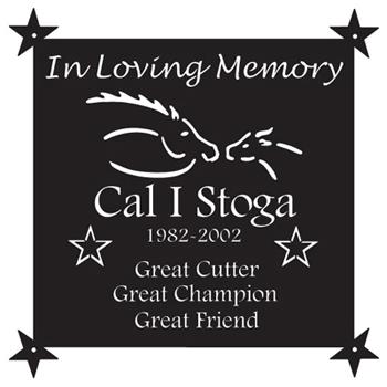 Cal I Stoga Memorial