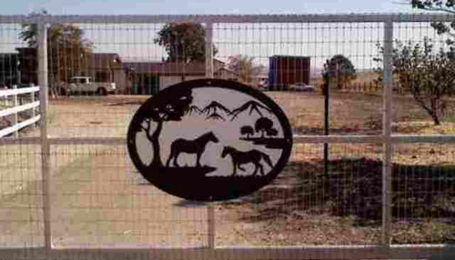 Draft Horse Gate Panel