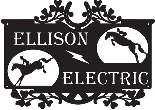 Ellison Electric Sign