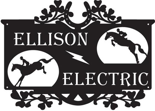 Ellison Electric Sign