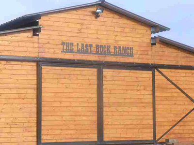 The Last Buck Ranch Sign
