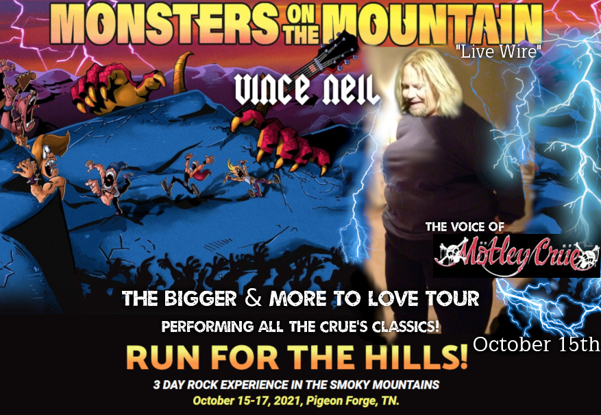 """Vince Neil – Promo For """"Monsters On The Mountain"""""""