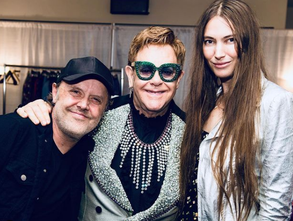 Elton John confirms he's working on 'something' with Metallica