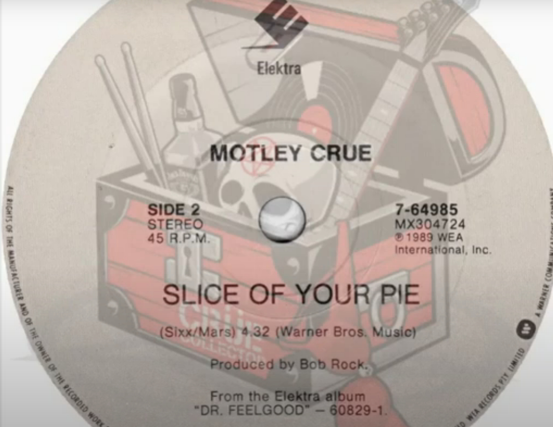 "Mötley Crüe – ""Slice Of Your Pie"" ALTERNATE LYRICS"