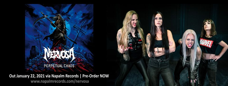 NERVOSA – Release New Lyric Video