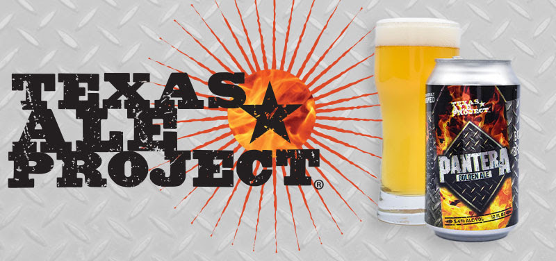 Texas Ale Project's 'Pantera Golden Ale' Second Delivery Announced!