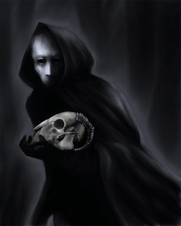 Figure In Black