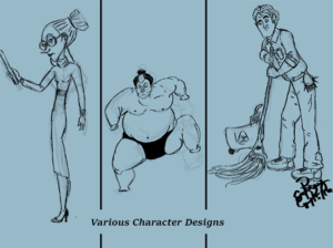 Various Characters: Digital