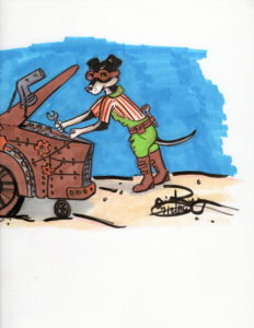 Tinker P. Weasel: Marker