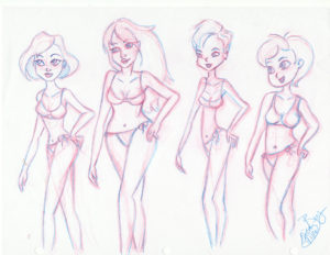 Exploring women designs and styles: Pencil