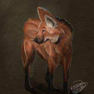 Maned Wolf: Digital