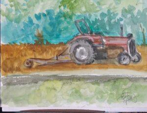 Plein Air: 9 x 12 Watercolor