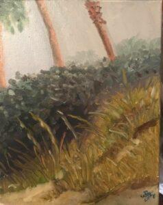 Plein Air Painting at the Beach: 11 x 14 Oil