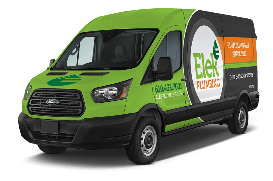 Elek Plumbing Service Vehicle