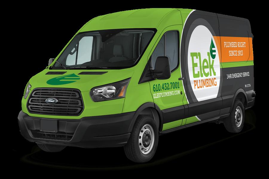 Elek Plumbing Service Vehicle