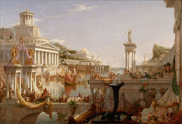 Thomas Cole, The Consummation, The Course of the Empire 1836