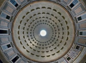 The Pantheon dome