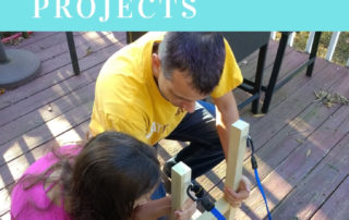making connections through hands-on projects