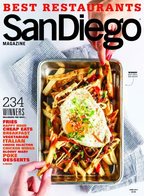 San Diego Magazine Best Restaurant Winner