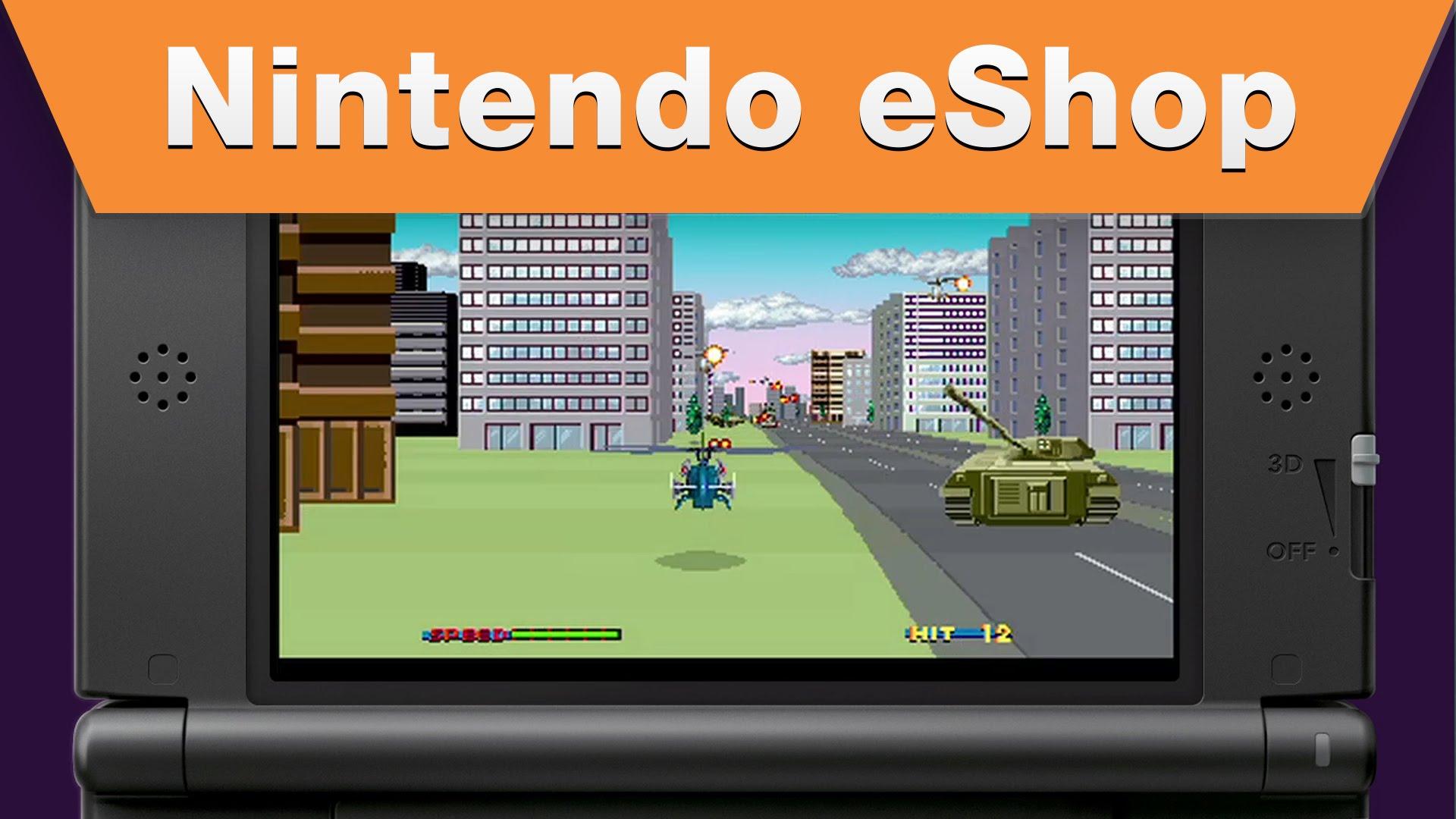 3D Thunder Blade Nintendo EGLA