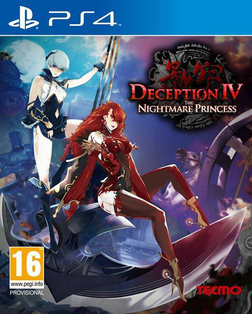 Deception IV The Nightmare Princess Caratula EGLA