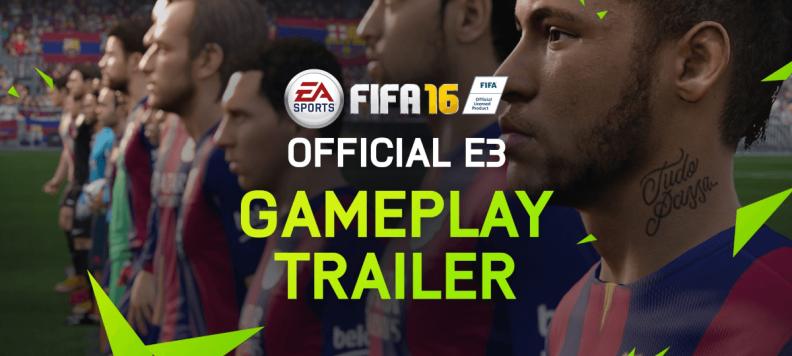 FIFA 16 Oficial Gameplay Trailer EGLA