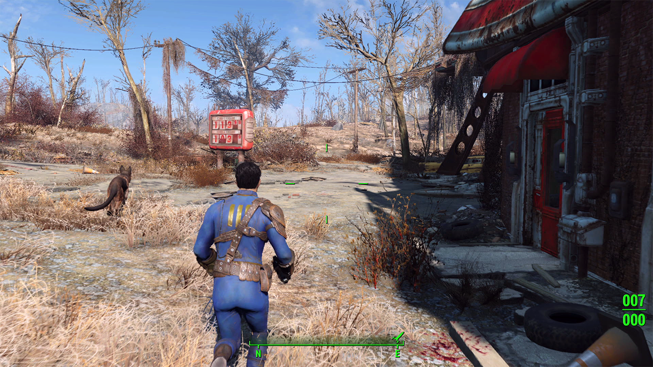 Fallout 4 gameplay EGLA