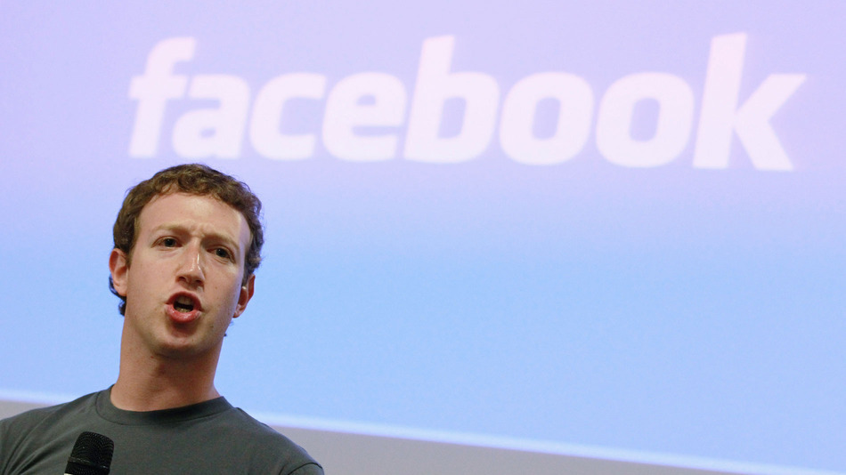 Mark Zuckerberg Facebook EGLA