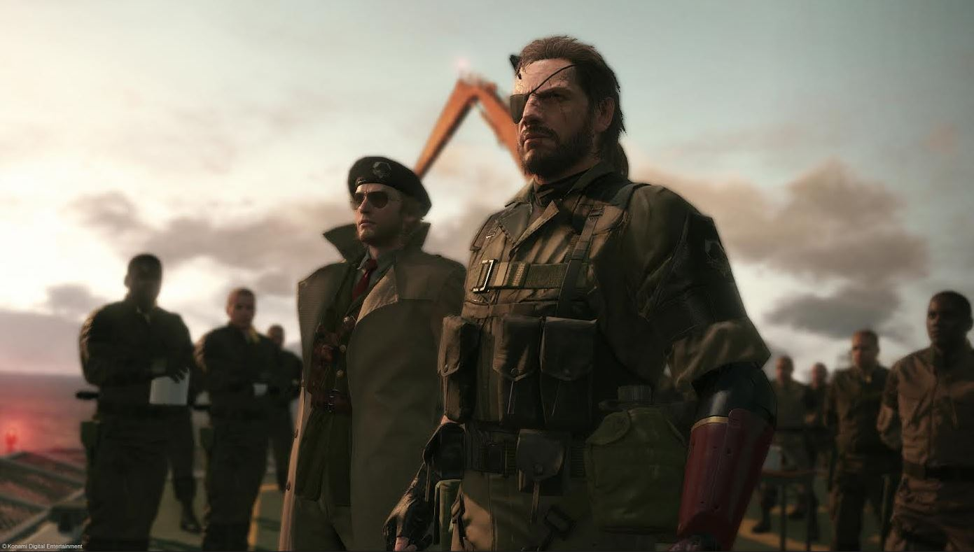 Metal Gear Solid V The Phantom Pain E3 2015 EGLA