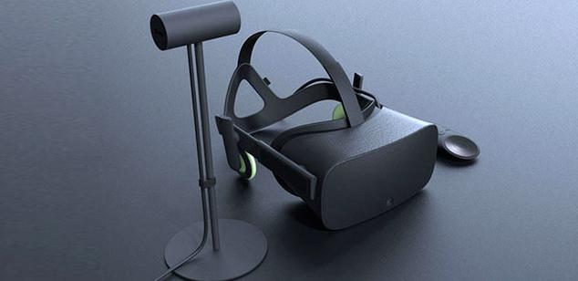 Oculus Rift nuevo diseño EGLA