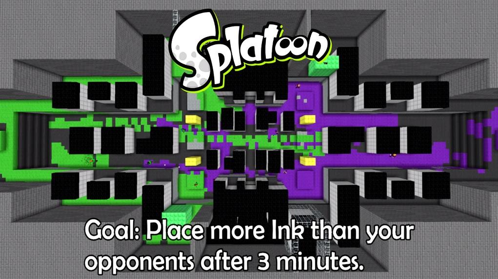 Splatoon Minecraft EGLA