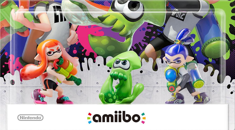 Splatoon Nintendo 3 Amiibo EGLA